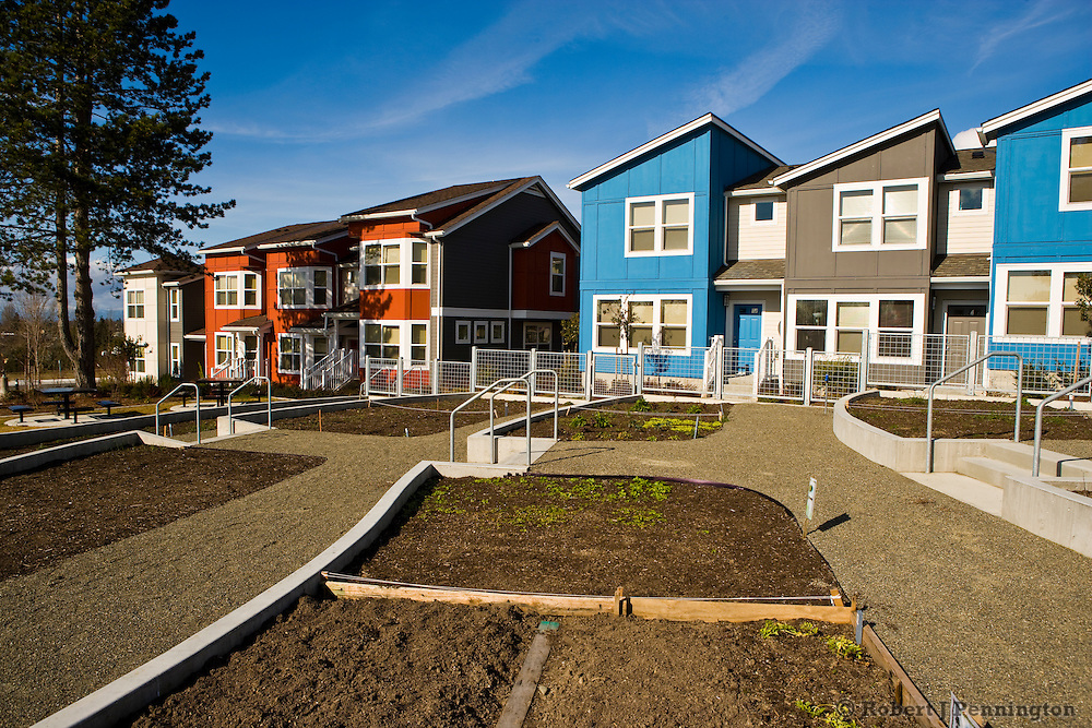 A sustainable, planned, mixed income housing development that promotes quality design, engaged community, and a healthy environment.