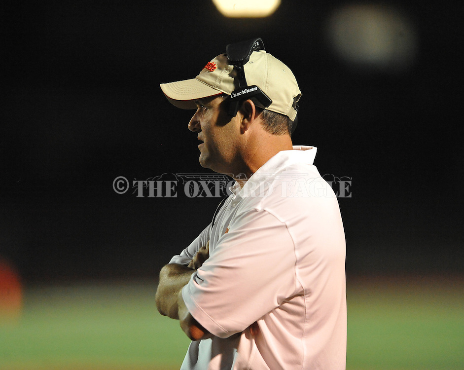 Lafayette High head coach Eric Robertson vs. Shannon in Oxford, Miss. on Friday, September 19, 2014. Lafayette High won 35-0 to improve to 2-3 on the season.