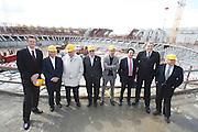 DESCRIZIONE : Roma Tor Vergata PalaCalatrava Commissione FIBA in visita per assegnazione dei Mondiali 2014<br /> GIOCATORE : Boris Stankovic Markus Studar Predrag Bogosavljev Massimo Cilli Dino Meneghin Santiago Calatrava<br /> SQUADRA : Fiba Fip<br /> EVENTO : Visita per assegnazione dei Mondiali 2014<br /> GARA :<br /> DATA : 02/04/2009<br /> CATEGORIA : Ritratto<br /> SPORT : Pallacanestro<br /> AUTORE : Agenzia Ciamillo-Castoria/G.Ciamillo