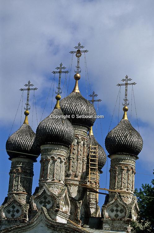 assumption church  Nijni-Novgorod  Russia     /// église de l'assomption (1673) tuiles en bois  Nijni-Novgorod  Urss   ///     L0007060  /  R20203  /  P108120
