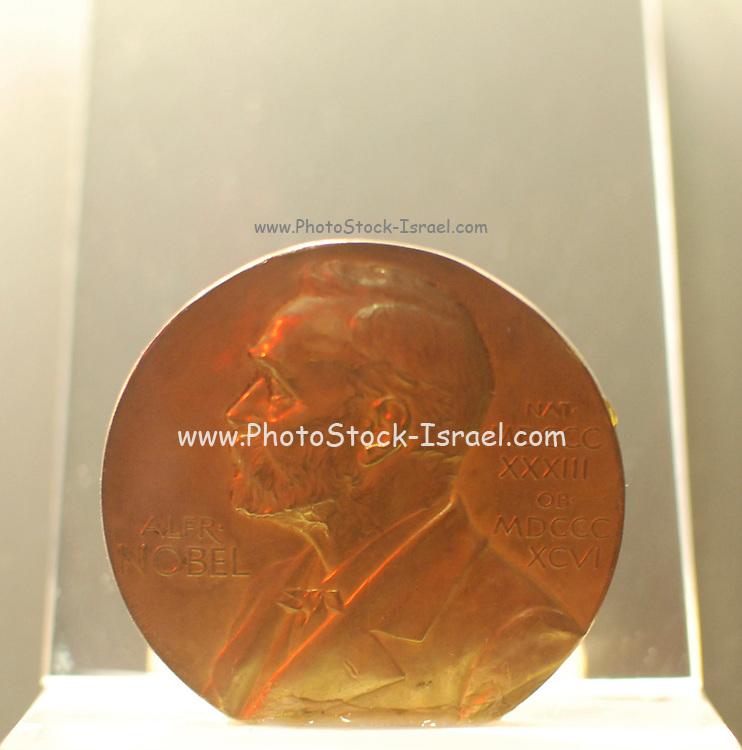 Israel, Jerusalem, Science Museum, Albert Einstein's Nobel Prize Medal 1922