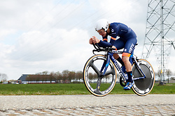 Barbara Guarischi (ITA) at Healthy Ageing Tour 2019 - Stage 4A, a 14.4km individual time trial starting and finishing in Winsum, Netherlands on April 13, 2019. Photo by Sean Robinson/velofocus.com