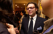 Emanuelle della Valle.. Tod's hosts Book signing with Dante Ferretti celebrating the launch of 'Ferretti,- The art of production design' by Dante Ferretti. tod's, Old Bond St. 19 April 2005.  ONE TIME USE ONLY - DO NOT ARCHIVE  © Copyright Photograph by Dafydd Jones 66 Stockwell Park Rd. London SW9 0DA Tel 020 7733 0108 www.dafjones.com