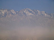 a mountaintop range in California USA