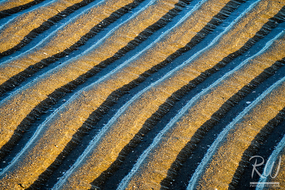 Sand Pattern Abstracts, Alameda, California<br />