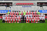 Equipe Reims - 21.10.2014 - Photo officielle Reims - Ligue 1 2014/2015<br /> Photo : Philippe Le Brech / Icon Sport