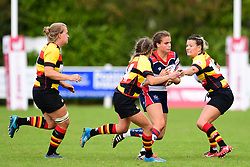 Lucy Attwood of Bristol Ladies in action - Mandatory by-line: Craig Thomas/JMP - 17/09/2017 - Rugby - Cleve Rugby Ground  - Bristol, England - Bristol Ladies  v Richmond Ladies - Women's Premier 15s