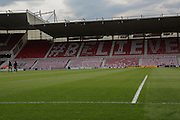 Riverside Stadium prior to the Sky Bet Championship Play Off Second Leg match between Middlesbrough and Brentford at the Riverside Stadium, Middlesbrough, England on 15 May 2015. Photo by Simon Davies.