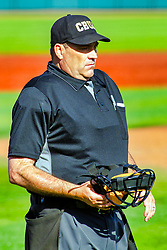 20 May 2019:  Greg Harmon. Missouri Valley Conference Baseball Tournament - Southern Illinois Salukis v Illinois State Redbirds at Duffy Bass Field in Normal IL<br /> <br /> #MVCSPORTS