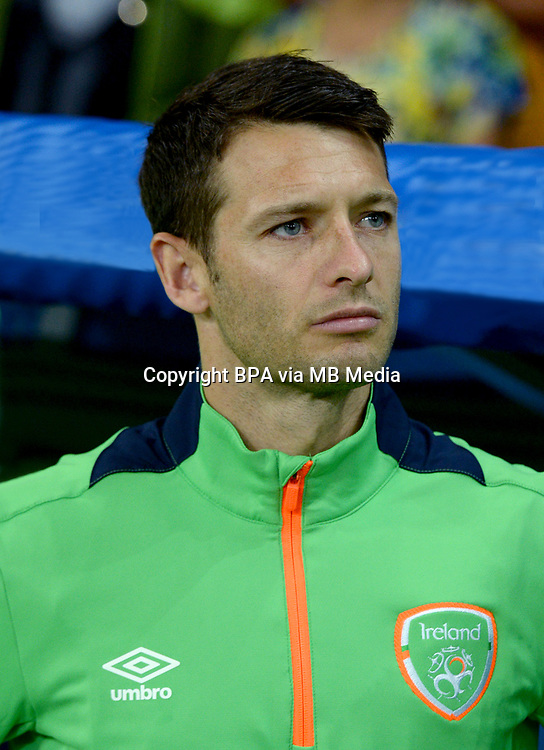 Uefa - World Cup Fifa Russia 2018 Qualifier / <br /> Republic of Ireland National Team - Preview Set - <br /> Wesley Hoolahan