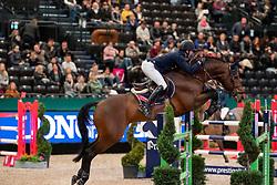 STÜHLMEYER Patrick (GER), Chacgrano<br /> Leipzig - Partner Pferd 2019<br /> Eröffnungsspringen<br /> 17. Januar 2019<br /> © www.sportfotos-lafrentz.de/Stefan Lafrentz