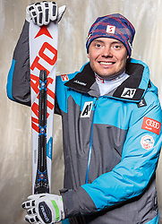 08.10.2016, Olympia Eisstadion, Innsbruck, AUT, OeSV Einkleidung Winterkollektion, Portraits 2016, im Bild Lukas Inselsbacher, Skicross // during the Outfitting of the Ski Austria Winter Collection and official Portrait Photoshooting at the Olympia Eisstadion in Innsbruck, Austria on 2016/10/08. EXPA Pictures © 2016, PhotoCredit: EXPA/ JFK