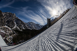 View from the hill during 1st round of the Ski Flying Hill Individual Competition at Day 2 of FIS Ski Jumping World Cup Final 2019, on March 22, 2019 in Planica, Slovenia. Photo Peter Podobnik / Sportida