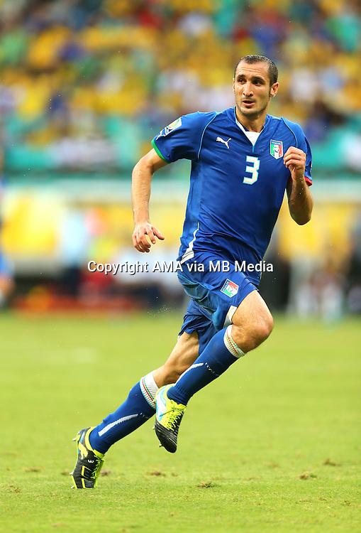 Giorgio Chiellini of Italy