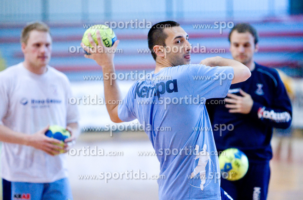 Dragan Gajic at practice of Slovenian Handball Men National Team, on June 4, 2009, in Arena Kodeljevo, Ljubljana, Slovenia. (Photo by Vid Ponikvar / Sportida)