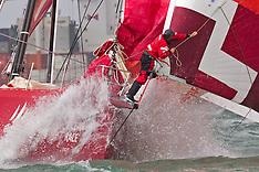 Auckland-Volvo Ocean Race-Yachts depart on Leg 5