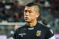 ALKMAAR - 06-02-2016, AZ - Vitesse, AFAS Stadion, Vitesse speler Yuning Zhang