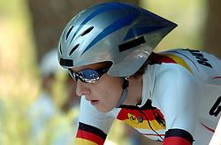 18-08-2004 WIELRENNEN: TIJDRIT OLYMPIC GAMES: ATHENE<br /> Judith Arndt GER<br /> ©2004-WWW.FOTOHOOGENDOORN.NL