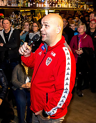 13.01.2018, Österreich Haus, Porec, CRO, EHF EM, Herren, Fantalk mit Trainer Patrekur Johannesson (AUT), Gruppe B, im Bild // during a Fantalk with the Austrian head coach Patrekur Johannesson during the EHF men's Handball European Championship at the Österreich Haus in Porec, Croatia on 2018/01/13. EXPA Pictures © 2018, PhotoCredit: EXPA/ Sebastian Pucher