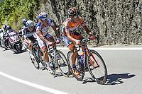 Berlato Giacomo / Bandiera Marco  - Nippo Vini Fantini / Androni Giocattoli - 27.05.2015 - Tour d'Italie - Etape 17 -  Tirano / Lugano<br />Photo : Sirotti / Icon Sport *** Local Caption ***