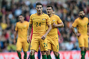 Jamie Maclaren (Australia) during the Friendly International match match between England and Australia at the Stadium Of Light, Sunderland, England on 27 May 2016. Photo by Mark P Doherty.