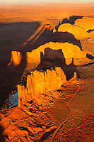 Camel and Cly Butte Monument Valley