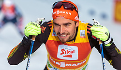 18.12.2016, Nordische Arena, Ramsau, AUT, FIS Weltcup Nordische Kombination, Langlauf, im Bild Johannes Rydzek (GER) // Johannes Rydzek of Germany during Cross Country Competition of FIS Nordic Combined World Cup, at the Nordic Arena in Ramsau, Austria on 2016/12/18. EXPA Pictures © 2016, PhotoCredit: EXPA/ JFK