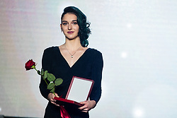 Mia Krampl at 55th Annual Awards of Stanko Bloudek for sports achievements in Slovenia in year 2018 on February 4, 2020 in Brdo Congress Center, Kranj , Slovenia. Photo by Grega Valancic / Sportida