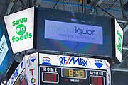 KELOWNA, CANADA - JANUARY 10:  Metro Liquor at the Kelowna Rockets game on January 10, 2018 at Prospera Place in Kelowna, British Columbia, Canada.  (Photo By Cindy Rogers/Nyasa Photography,  *** Local Caption ***