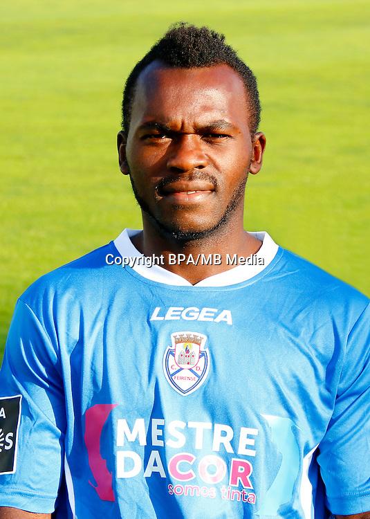 Portugal - Primera Liga NOS 2016-2017 / <br /> ( CD Feirense ) - <br /> Herve Christian Tchami Ngangoue &quot; Herve Tchami &quot;