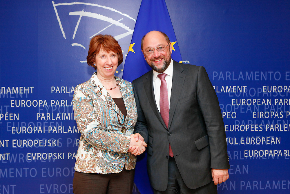 EP President meets with Catherine ASHTON, High Representative of the Union for Foreign Affairs and Security Policy