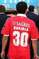 20090630: LISBON, PORTUGAL - Argentine star Javier Saviola presented in SL Benfica. The former Barcelona and Real Madrid striker signed a three year contract. In picture: Javier Saviola. PHOTO: Pedro Evangelista/CITYFILES