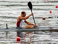 Padling / Kano<br /> EM 2005<br /> Poznan<br /> Foto: Wrofoto/Digitalsport<br /> NORWAY ONLY<br /> <br /> 31.07.2005<br /> ERIK VERÅS LARSEN