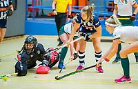 AMSTERDAM  - /h7/ tijdens het starttoernooi zaalhockey in Sporthallen Zuid.    COPYRIGHT KOEN SUYK