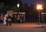 Queen Elizabeth Lights Beacon -  VE Day 70th Anniversary