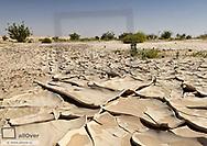 ausgedoerrter Boden, Wueste, Oman