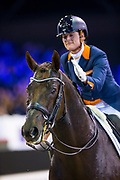 Adelinde Cornelissen - Fleau de Baian<br /> Jumping Amsterdam 2018<br /> © DigiShots