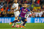 Barcelona defender Arturo Vidal (22) during the Champions League semi-final leg 1 of 2 match between Barcelona and Liverpool at Camp Nou, Barcelona, Spain on 1 May 2019.