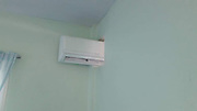 """VIRAL picture of man who had to share air con with room next door in hotel.<br /> <br /> Some cheap hotels require you to share a bathroom with other guests, but this is the first time a place that wants you to share your air-con with the room next door.<br /> <br /> Photos of two guestrooms that share an air conditioner went viral over the weekend, amusing netizens and sparking questions such as: """"Well, who gets the remote?""""<br /> <br /> The photos, posted by user Titi Japantour, were taken at an unnamed resort in Nakhon Nayok province.<br /> <br /> <br /> """"While my friends get to travel to Europe, Russia and England, I'm here!  I can't be the only who witnessed this. Looks like no one is getting laid tonight,"""" Titi wrote.<br /> <br /> Well, the hole in the wall where the air-con is installed does take away your privacy.<br /> <br /> The user said that he rented a house at the resort but was surprised the two bedrooms shared an air conditioner.<br /> <br /> Titi said the air-con actually worked well for the two rooms and that he did not want to defame the resort but only wanted to share the photos for fun.<br /> <br /> """"While my friends get to travel to Europe, Russia and England, I'm here!  I can't be the only who witnessed this. Looks like no one is getting laid tonight,"""" Titi wrote.<br /> <br /> Well, the hole in the wall where the air-con is installed does take away your privacy.<br /> <br /> The user said that he rented a house at the resort but was surprised the two bedrooms shared an air conditioner.<br /> <br /> Titi said the air-con actually worked well for the two rooms and that he did not want to defame the resort but only wanted to share the photos for fun.<br /> ©Titi Japantour /Exclusivepix Media"""