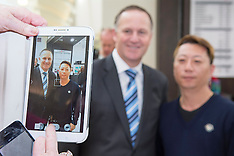 "Christchurch-Prime Minister under ""selfie"" siege"