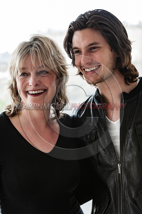 "EDINBURGH, UNITED KINDGOM, JUNE 27, 2008: Director Suzie Halewood and actor Ben Barnes attend a photocall for ""Bigga than Ben"" inside The Point Conference Center in Edinburgh Scotland"