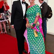 NLD/Amsterdam/20110618 - Amsterdamdiner 2011, stylist Bodo en Madelon Mijnster