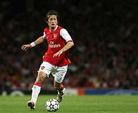 Photo: Chris Ratcliffe.<br /> Arsenal v FC Porto. UEFA Champions League, Group G. 26/09/2006.<br /> Tomas Rosicky of Arsenal.