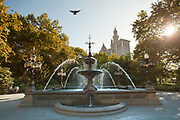 The Jacob Wrey Mould Fountain at City Hall, NYC