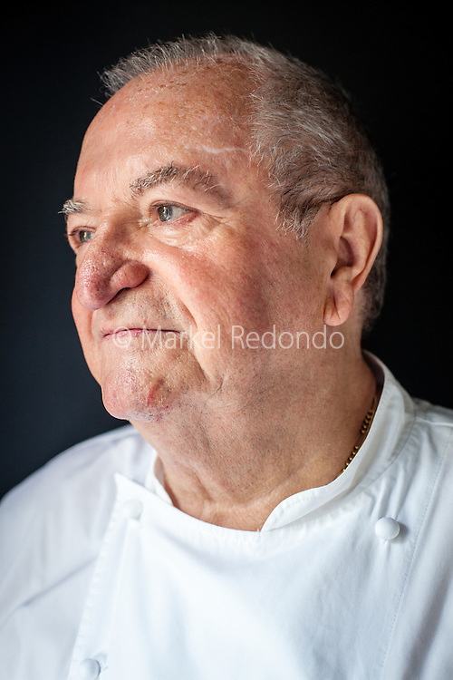 Portrait of Juan Mari Arzak,in San Sebastian, Spain.