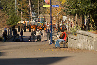 Living in Whistler means regular activities, such as walking to work, catching a bus, going to school and taking care of your health.