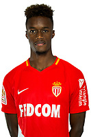 Adama Diakhaby during Photoshooting of Monaco for new season 2017/2018 on September 28, 2017 in Monaco, France. (Photo by Chateau/Asm/Icon Sport)