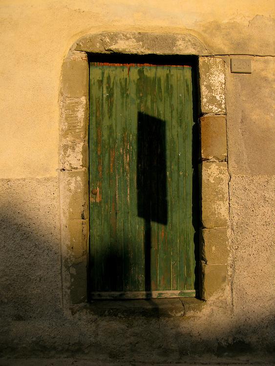 Doorway in Corniglia, Cinque Terre, Italy