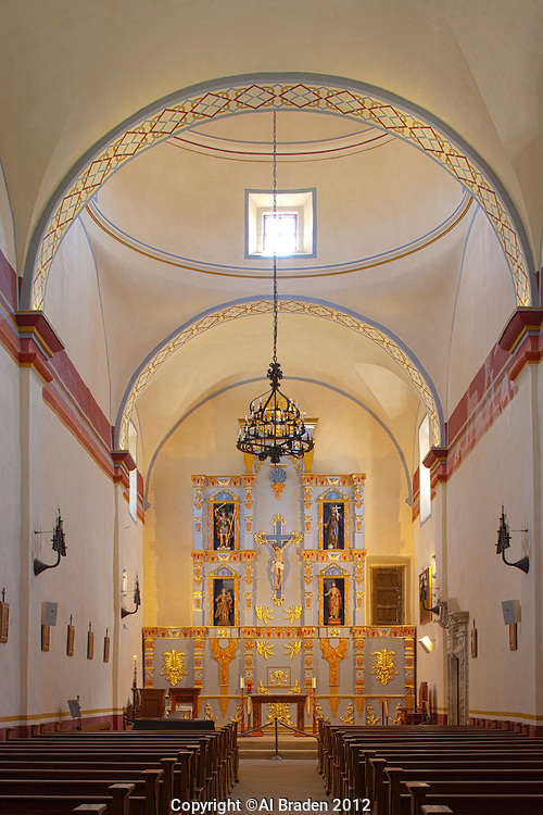 Chapel at Mission San Jose, San Antonio, TX