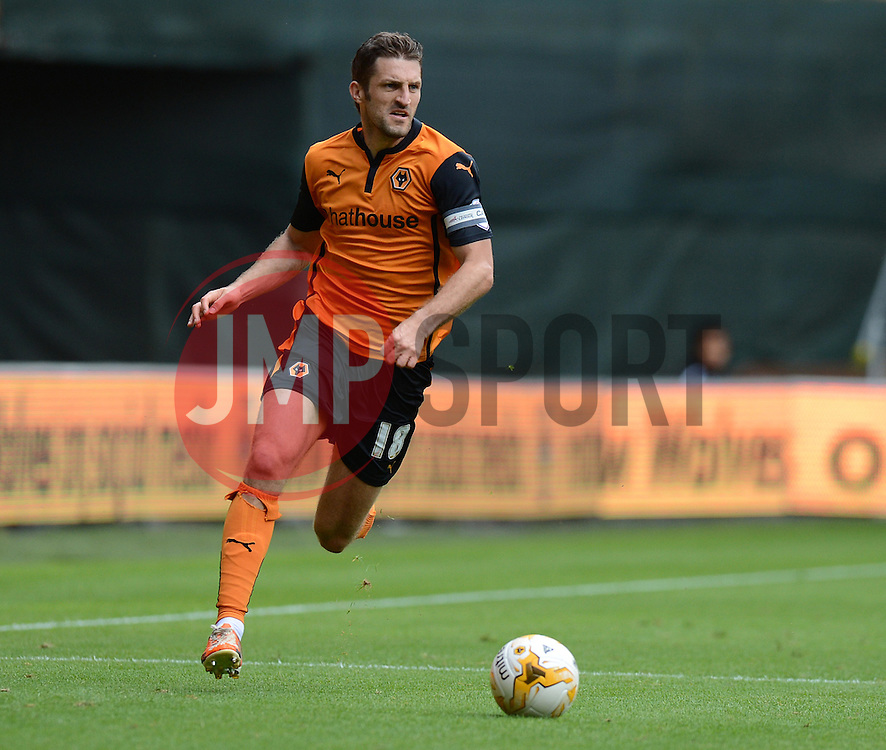 Wolverhampton's Samuel Ricketts  - Photo mandatory by-line: Alex James/JMP - Tel: Mobile: 07966 386802 2/08/2014 - SPORT - FOOTBALL -  Wolverhampton - Molineux Stadium  -   Wolverhampton vs  Celta Vigo - preseason